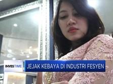 Jejak Kebaya di Industri Fesyen