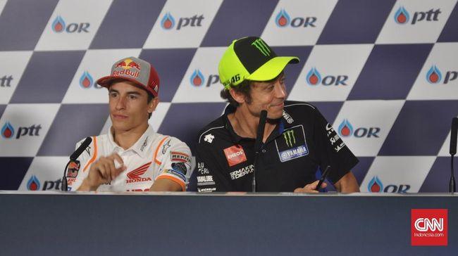 Marquez: Saya Kagum dan Hormati Rossi