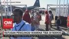 VIDEO: Ratusan Pengungsi Wamena Tiba di Maros
