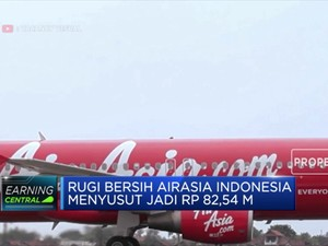 Mantap! Rugi Bersih AirAsia Semester I Menyusut