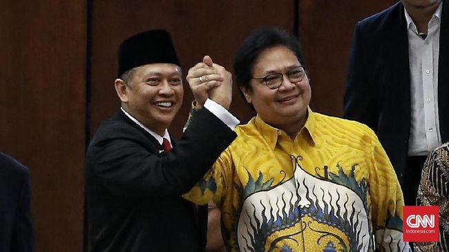Manuver Politik Bamsoet-Airlangga Memanas Jelang Munas Golkar