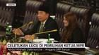 VIDEO: Celetukan Lucu di Pemilihan Ketua MPR