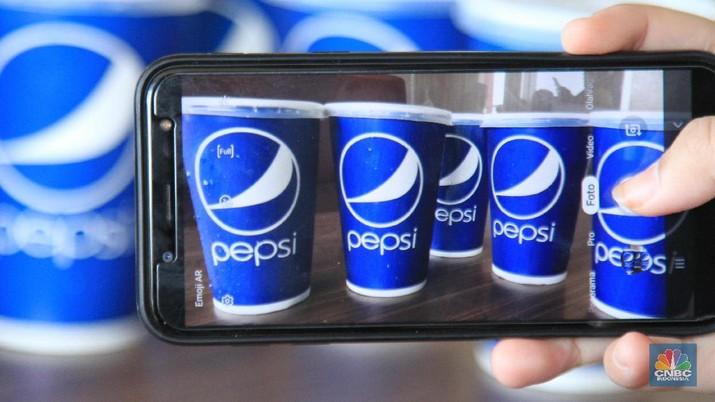 Pepsi (CNBC Indonesia/Tri Susilo)