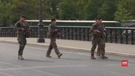 VIDEO: Penyidik Selidiki Penikaman di Markas Polisi Paris