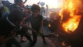 Total 157 Orang Tewas dalam Sepekan Demonstrasi di Irak