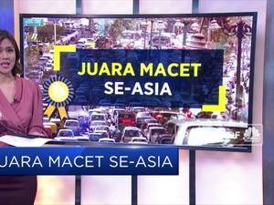 Bukan Jakarta, Bukan Bekasi, Ini Kota Termacet di Indonesia