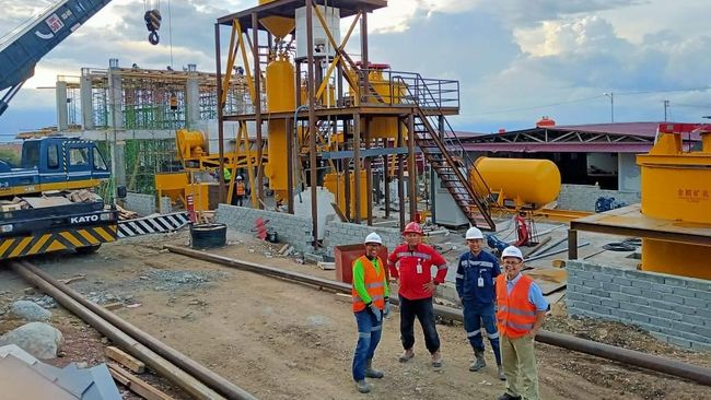 BUMI BRMS Bumi Resources Minerals Memulai Dry Run Test di Poboya