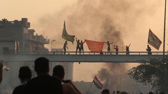 PM Irak Janjikan Dialog Demi Redam Demonstrasi