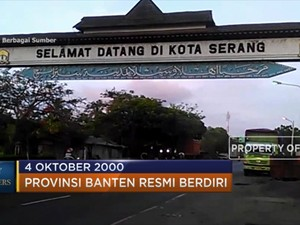 Titik Awal Berdirinya Provinsi Banten