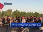Polisi Tembaki Demonstran Irak