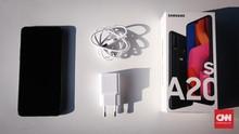 Samsung Galaxy A20s, Murah dengan Kamera Medioker dan NFC