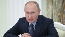 Presiden Putin Desak Warga Rusia Patuhi Lockdown Moskow
