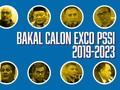 INFOGRAFIS: Calon Ketua Umum, Wakil, dan Exco PSSI 2019-2023