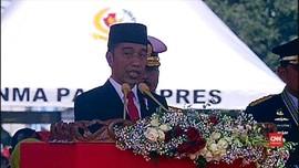VIDEO: Pesan Jokowi Untuk Sinergi TNI Dengan Polri dan BNPT