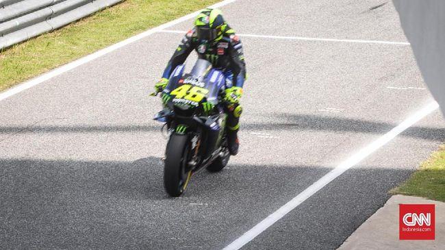 Rossi Tidak Senang Jelang MotoGP Jepang 2019
