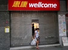 Hong Kong Kacau, Warga Borong Sembako & Kuras ATM