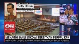 VIDEO: Menagih Janji Jokowi Terbitkan Perppu KPK (3/3)