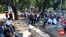 Target Ribuan, Aksi Dukung Jokowi Baru Dihadiri Puluhan Orang
