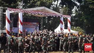 Lagu Via Vallen Bius TNI dan Brimob Hingga Joget Bareng