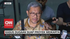 VIDEO: Mantan Gubernur Jabar Soal Kasus Suap Meikarta