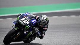 Hasil Tes MotoGP Qatar: Vinales Tercepat, Rossi Kecelakaan