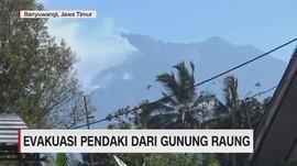 VIDEO: Evakuasi 13 Pendaki dari Gunung Raung