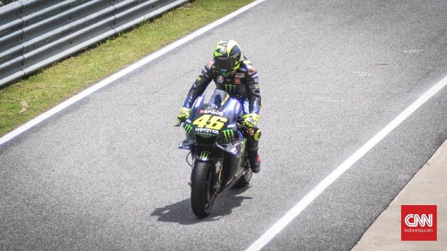 Usai MotoGP Thailand, Rossi Pasrah Disamai Marquez