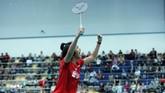 Putri Kusuma Wardani sukses membawa Indonesia memimpin 2-0 lewat kemenangan21-18, 20-22, 21-14. (dok. PBSI)