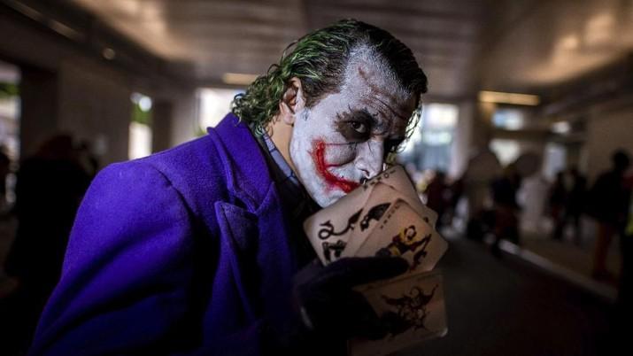 Mengintip Keseruan Saat Joker & Spider Man Cs Bertemu