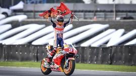 Jelang MotoGP Jepang, Marquez Lupakan Status Juara Dunia