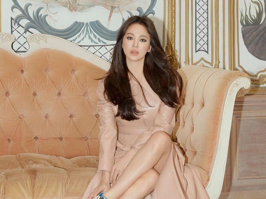 Selain di New York, Song Hye Kyo Juga Dapat Ucapan Ultah di Manila