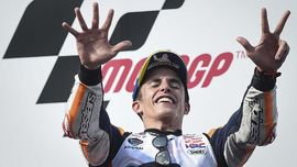 7 Catatan Sensasional Marquez Usai Juara Dunia MotoGP