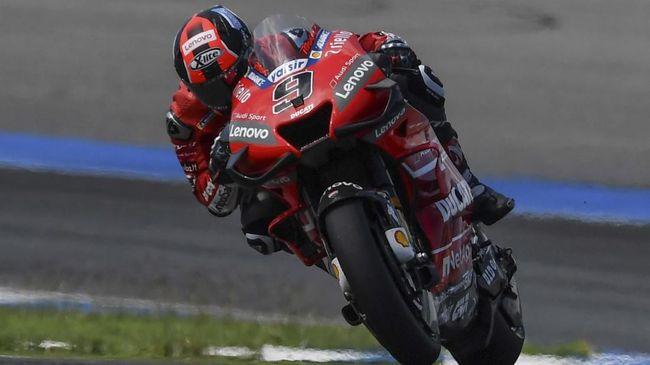 MotoGP Australia: Petrucci Sebut Marquez Penyebab Kecelakaan