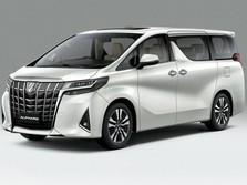 Harga Toyota Alphard Terbaru Nyaris Rp 2 M, Ini Penampakannya