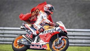 MotoGP 2019: Honda Bakal Kontrak 'Mati' Marquez