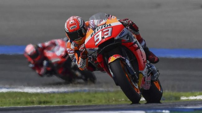 Hasil MotoGP Valencia 2019: Marquez Menang Mudah
