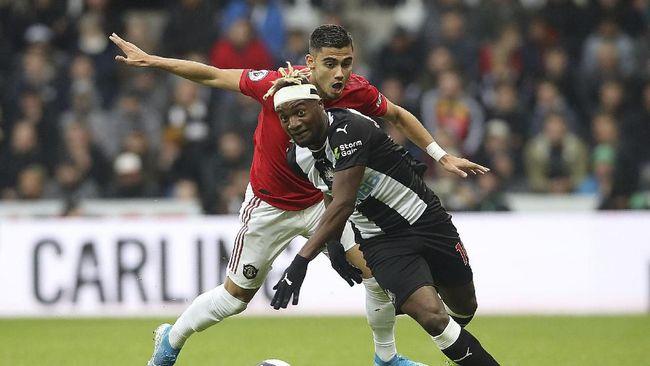 Hasil Liga Inggris: MU Kalah di Markas Newcastle