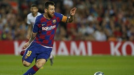 Messi Cetak Gol, Barcelona Hancurkan Sevilla