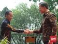 Jokowi dan PM Belanda Kompak Pakai Batik di Istana Bogor