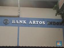 Kemarin Nyungsep 23%, Hari Ini Saham Bank Artos Ambles 6%