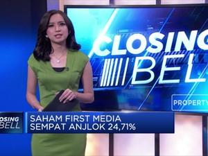 Digosipkan Diakuisisi MNC, Saham First Media Anjlok