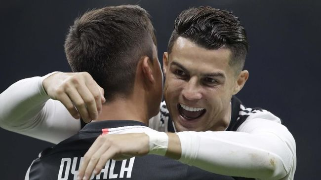 Dybala Girang Bisa Belajar dari Ronaldo dan Messi