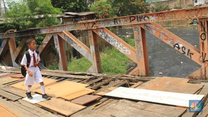Begini Kondisi Jembatan Rusun Yang Terbengkalai