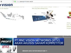 MNC Vision Tengah Jajaki Akuisisi Saham Kompetitor