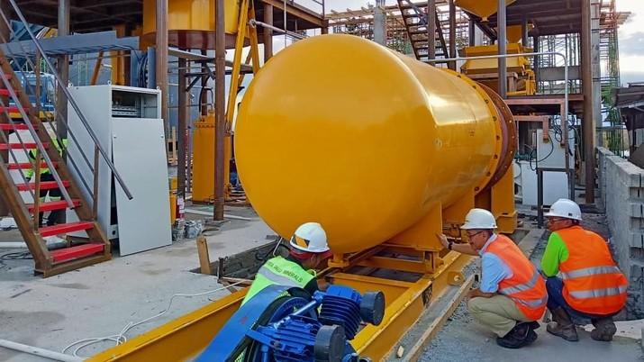 PT Bumi Resources Minerals Tbk (BRMS) bakal memulai uji coba produksi di tambang emasnya Citra Palu, Palu. (Dok. BUMI)