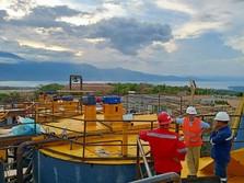 Produksi Emas, Pembangunan Pabrik Pengolahan BRMS Capai 90%