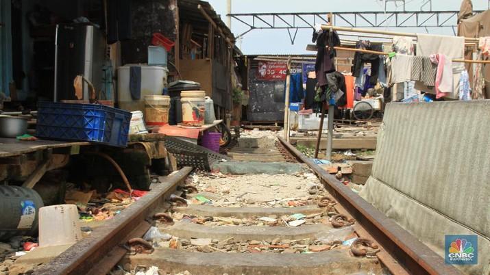 Pemandangan Miris Warga yang Tempati Gubuk di Kampung Bandan