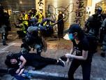 Sengsara Karena Demo, Hong Kong Seminggu Rugi Rp 5 T