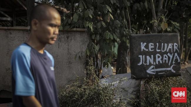 Salah seorang pendirinya, Suhartono, mengatakan bahwa selama ini ODGJ masih dipandang sebelah mata di tengah masyarakat. (CNN Indonesia/Bisma Septalisma)