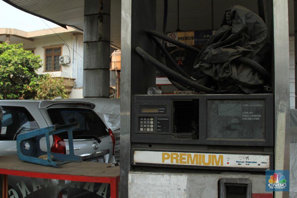 Pom bensin yang berlokasi di Jl. Ks. Tubun Rt05/Rw06, Pertamburan, Jakarta Pusat (di depan Rumah Sakit Pelni) sudah berubah fungsinya menjadi tempat parkir.